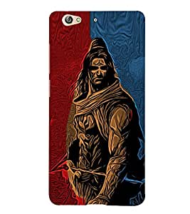 Lord Shiva Cute Fashion 3D Hard Polycarbonate Designer Back Case Cover for Gionee S6