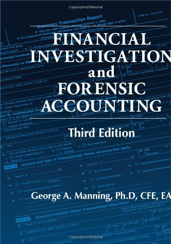 Financial Investigation and Forensic Accounting,