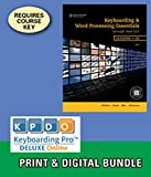 img - for Bundle: Keyboarding and Word Processing Essentials, Lessons 1-55, 19th +Keyboarding Pro DELUXE Online Lessons 1-55, 1 term (6 month) Printed Access Card book / textbook / text book