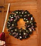 Deko-Kranz Weihnachtswichtel