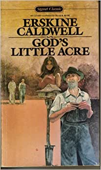 God's Little Acre Erskine Caldwell Modern Library HB VG Original DJ #51
