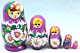 Traditional 5 Piece Russian Matryoshka Doll