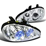 Mazda Mx3 Chrome Clear Halo Projector Headlights