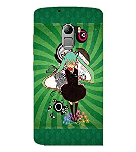 PrintDhaba Cartoon D-4089 Back Case Cover for LENOVO VIBE X3 LITE (Multi-Coloured)