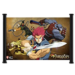 Thundercats 2011 Poster on Amazon Com  Thundercats 2011 Tv Series Fabric Wall Scroll Poster  46