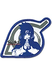 Naruto: Sasuke & Leaf Village Logo Anime Patch