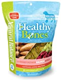 Natural Balance Healthy Bones Treats with Salmon, Sweet Potato, and Apple for Dogs, 16-Ounce Bag