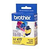 Brother LC41Y Ink Cartridge, 400 Pa