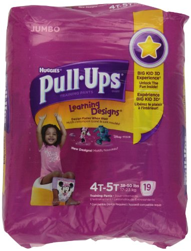 PULL-UPS GIRLS TRAINING PANTS 4T/5T by Kimberly Clark - 1