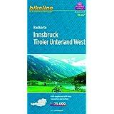 Bikeline Radkarte Innsbruck, Tiroler Unterland West 1:75 000 (RK-A12)