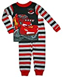 Disney Cars Little Boys 3T-5T Long Sleeve Cotton Pajama Set (4T)