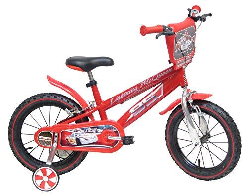 "Bicicletta ufficiale 14"" Disney Cars"