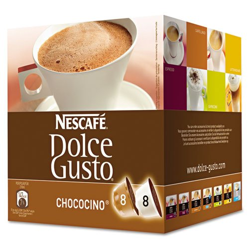 Dolce Gusto Coffee Capsules, Chococino, 2.67 Oz., 16 Per Box front-596423