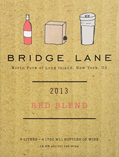 2013 Bridge Lane North Fork Of Long Island Red Blend (Box) 3 L