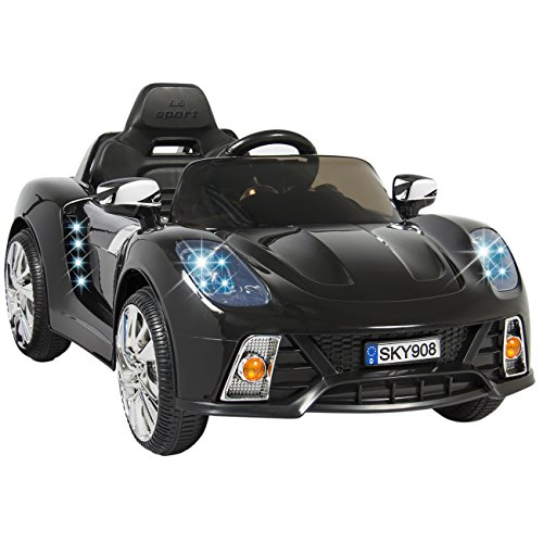 Best Choice Products Kids 12V Ride On Car with MP3 Electric Battery Power Remote Control, Black (Ride On Battery Car compare prices)