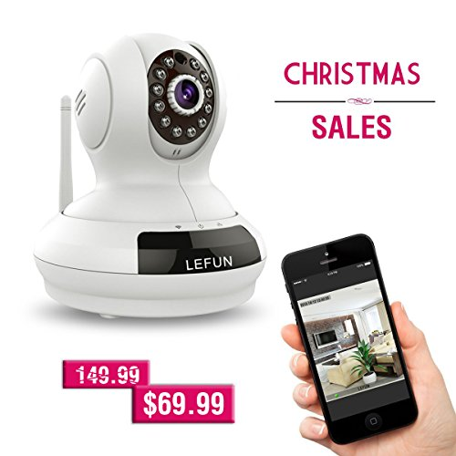 Best Prices! LeFun™ Wireless WiFi IP Surveillance Camera Pan Tilt 720P HD Night Vision Baby Video ...