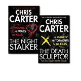 Chris Carter Chris Carter Robert Hunter Thriller Collection 2 Books Set, (The Death Sculptor and the Nigth Stalker)