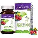 New Chapter Perfect Prenatal Multivitamin, PLUS B Vitamins, Folate (Folic Acid) - 192 ct (64 Day Supply)