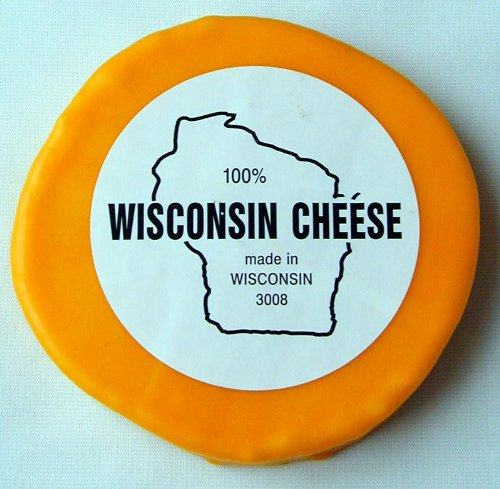 Wisconsin Cheddar Cheese - 2 lb. Round, Sharp Cheddar (Cheddar Cheese Wax compare prices)