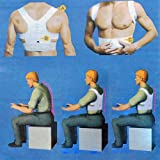 Vktech® Magnetic Therapy Posture Back Shoulder Corrector Support Brace Belt