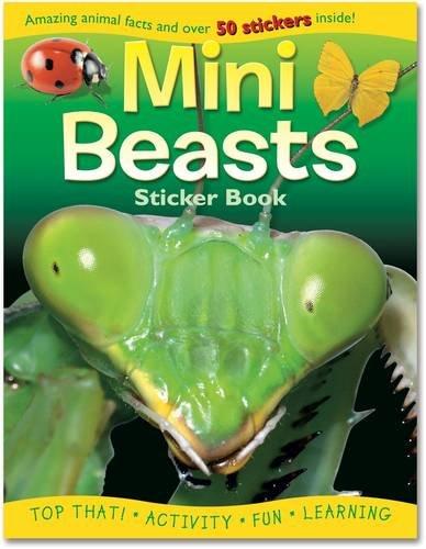 Mini Beasts (Sticker Activity Books)