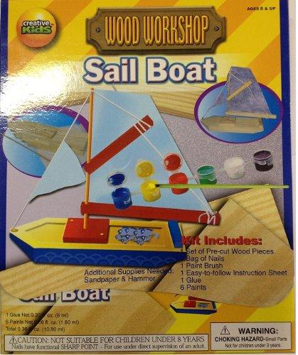 Toysrus Home Depot Custom Sailboat Kit front-1034593
