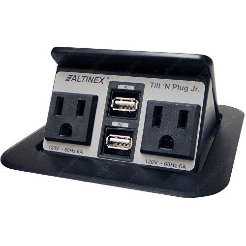 Altinex Tilt N Plug Tnp155 - (2) Usb Power & (2) Ac Power