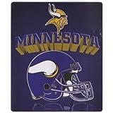 "Minnesota Vikings Lightweight 50"" x 60"" Fleece Blanket - Reflecting Helmet"