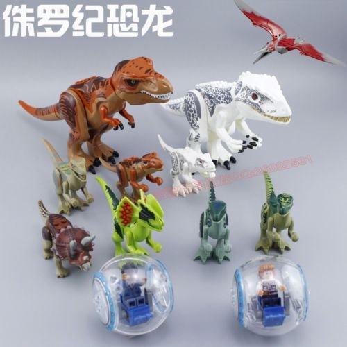 NEW Tyrannosaurus Rex Building Toys Mini Figures Bricks CZP