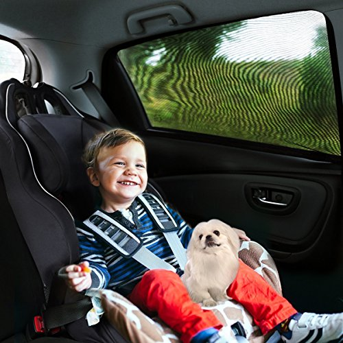 Aodoor-2-pezzi-1-Set-Tendina-parasole-per-finestrino-laterale-dellauto-per-bambini-per-retro-parasole-per-finestrini-laterali-per-massima-protezione-dai-raggi-UV-bambini-bambino-e-Dog