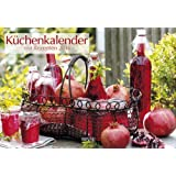 Küchenkalender mit Rezepten 2014. Broschürenkalender