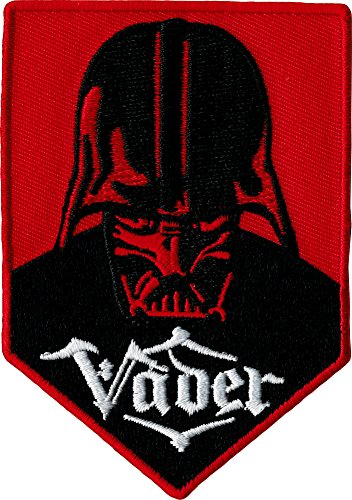 "Star Wars / Clone Wars Lucas Films Movie Patch - 3.5"" Darth Vader Face Crest"