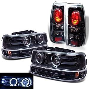 Amazon.com: Rxmotoring 2000 Chevy Silverado Projector Headlights