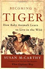 Becoming a Tiger: How Baby Animals Learn to Live in the Wild [Hardcover]