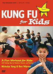Kung Fu for Kids YMAA age 7-12 exercise workout