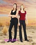 大きな写真、TV「CSI:科学捜査班」キャサリンとサラのスナップ