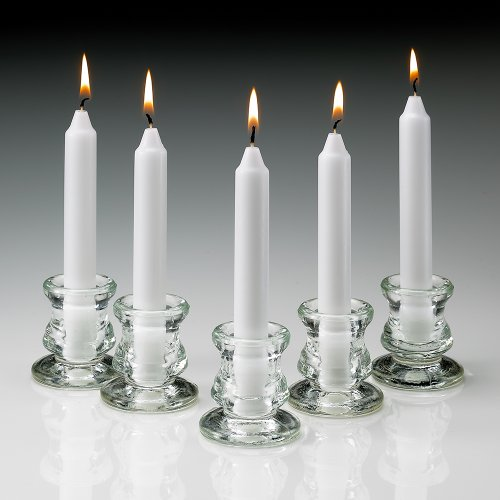 Taper Candles Size and Quantity: 6