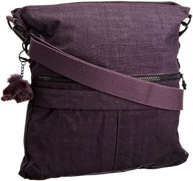 Kipling NEW EBB K19868, Unisex - Erwachsene Umhängetasche, Violett (Burgundy 660), 33x36x9 cm (B x H x T)