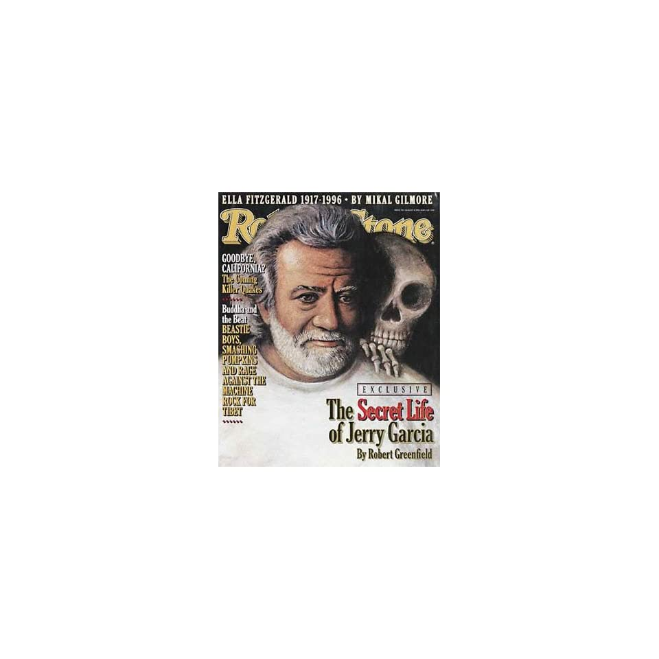 Rolling Stone Magazine, Issue 740, August 1996   Jerry Garcia Cover
