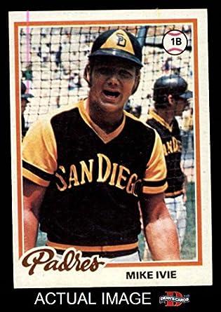 1978 Topps # 445 Mike Ivie San Diego Padres (Baseball Card
