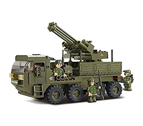OliaDesign Military Armored Truck Building Blocks Set (306 Piece) (Military Building Blocks compare prices)