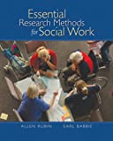 Essential Research Methods for Social Work (0495006580) by Rubin, Allen