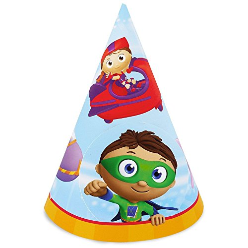 Super Why! Cone Hats (8)