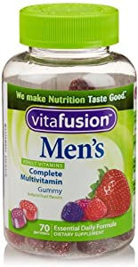 Vitafusion Men's Gummy Vitamins, 70 Count
