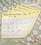 24 Baby Shower Game Bingo Cards
