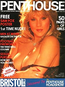 penthouse magazine with sam fox poster march 1985 vol