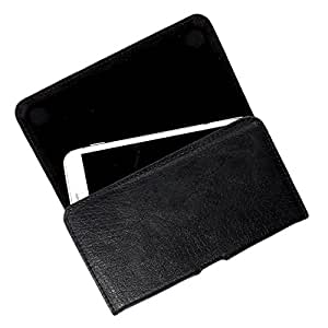 DooDa PU Leather Case Cover For Nubia Z9 Mini (Black)