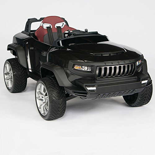 Henes-Broon-T870-Kids-Ride-On-Vehicle-24V-Power-with-Rubber-Wheels-Remote-Control-Black
