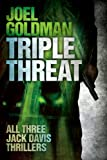 img - for Triple Threat (Jack Davis Thrillers) book / textbook / text book