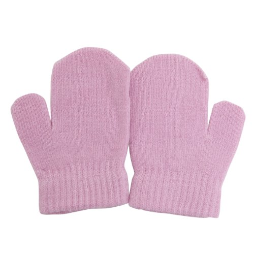 Baby Winter Mittens (One Size) (Pink)